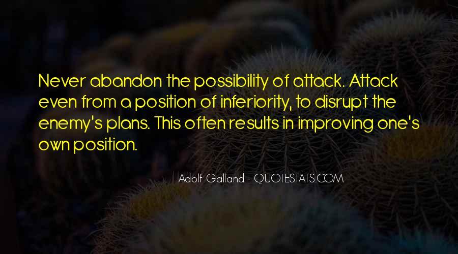 Galland's Quotes #1070671
