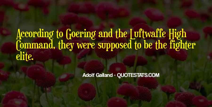 Galland's Quotes #1083025