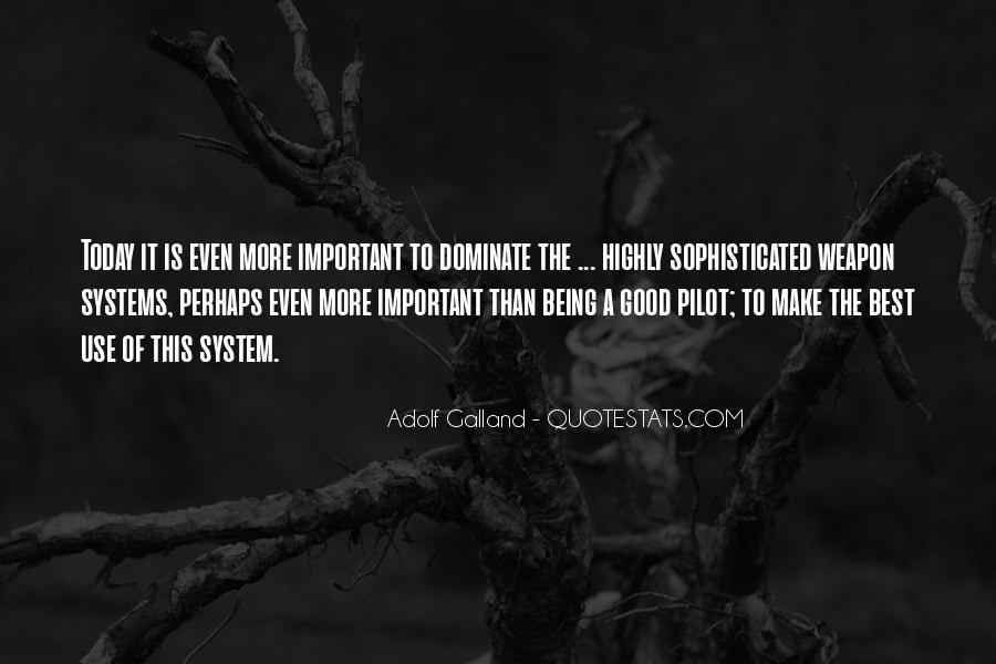 Galland's Quotes #128224