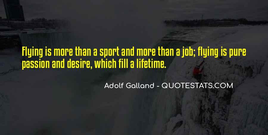 Galland's Quotes #1564181