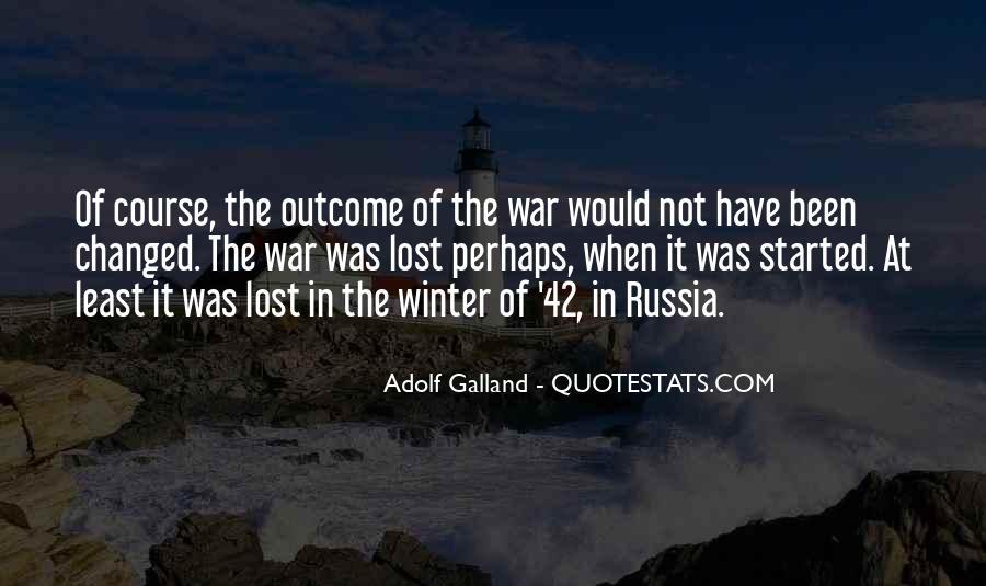 Galland's Quotes #1737034
