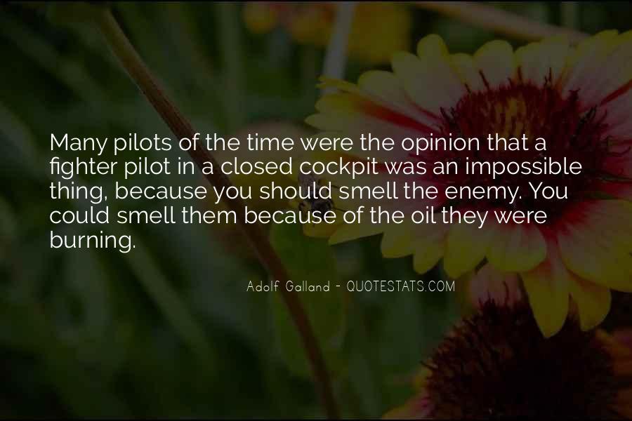 Galland's Quotes #266304