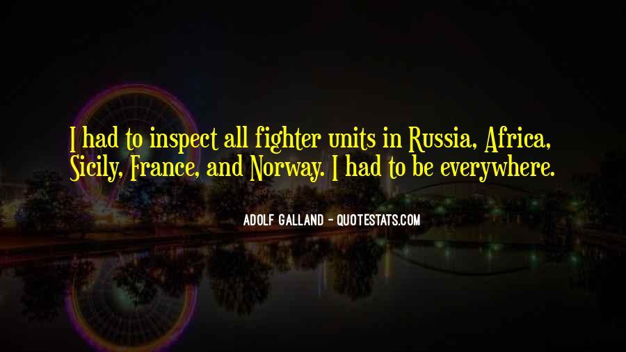 Galland's Quotes #308925