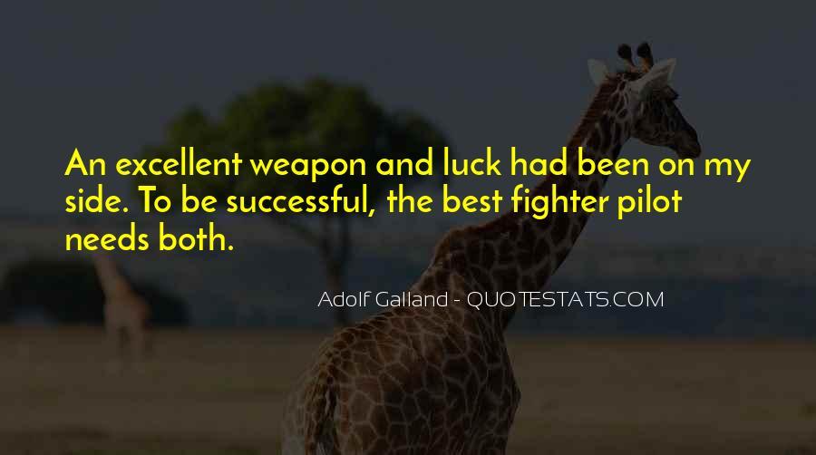 Galland's Quotes #495425