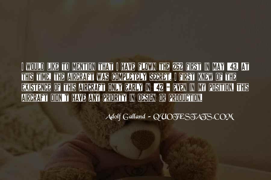 Galland's Quotes #661102
