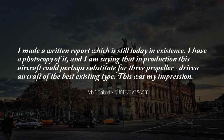 Galland's Quotes #673196