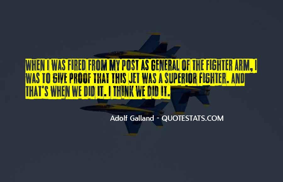 Galland's Quotes #869413