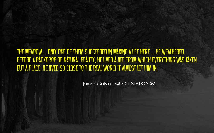 Galvin Quotes #274179