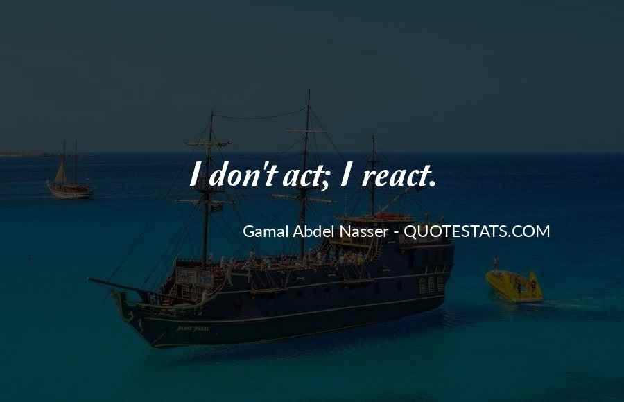 Gamal Quotes #1281414