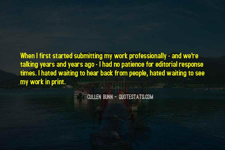 Quotes About Patience In Work #1605198