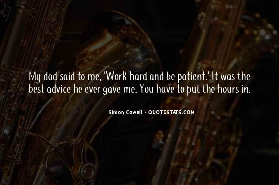 Quotes About Patience In Work #1686495