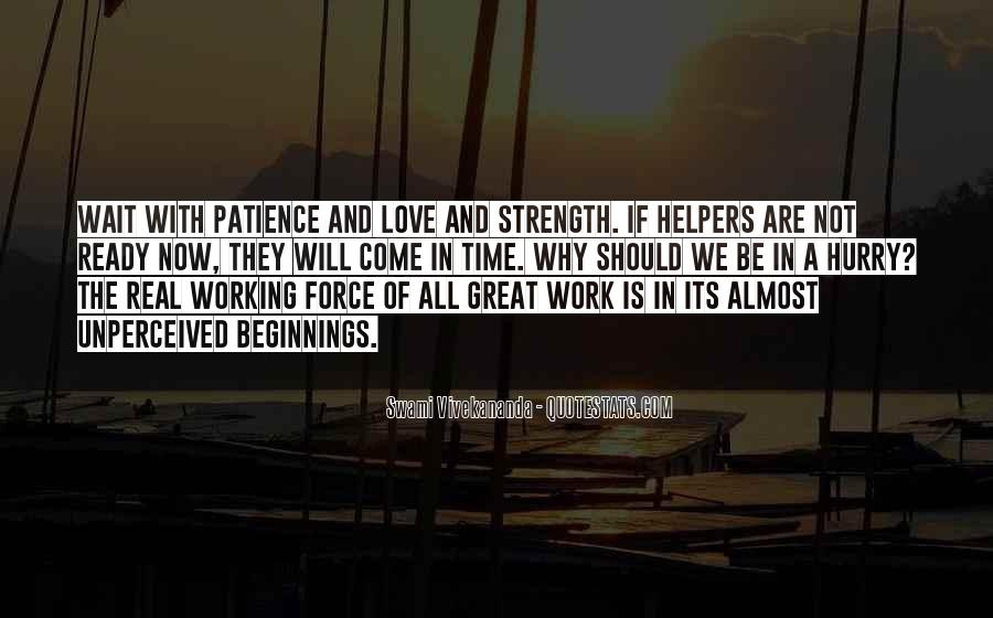 Quotes About Patience In Work #415253
