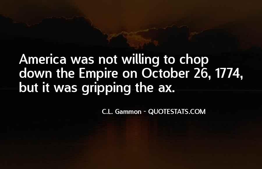 Gammon Quotes #1579574