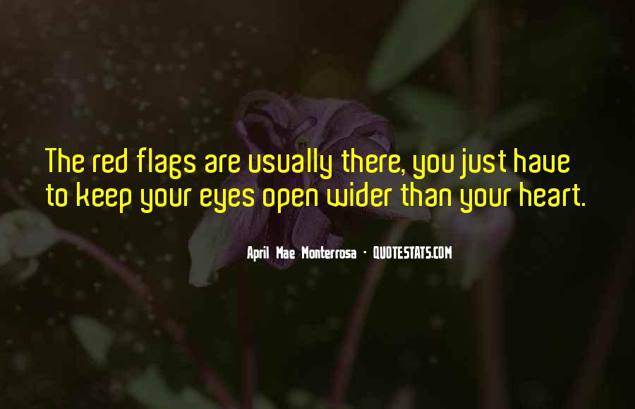 Quotes About Red Flags In Relationships #1077628