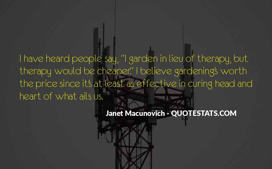 Gardening's Quotes #1155346