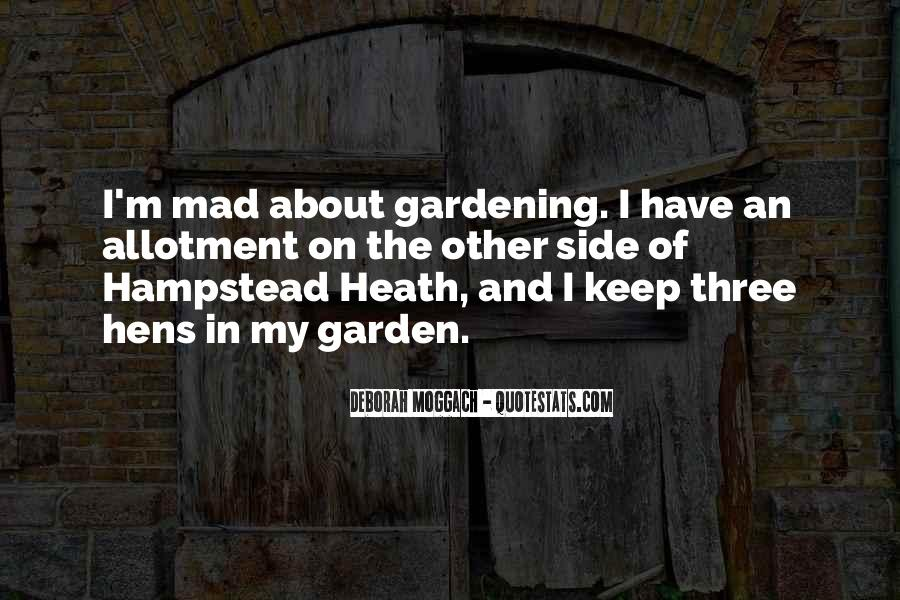 Gardening's Quotes #19513