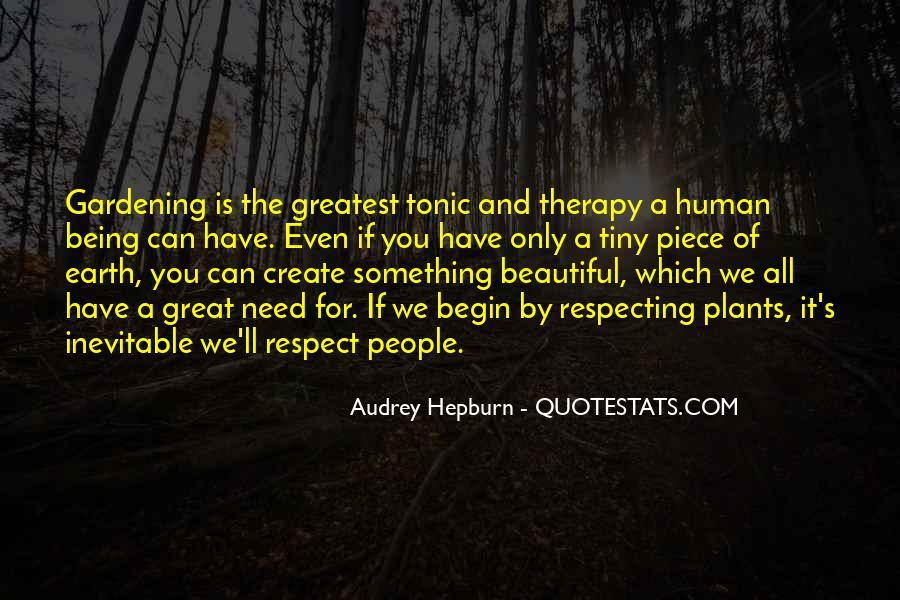 Gardening's Quotes #245436