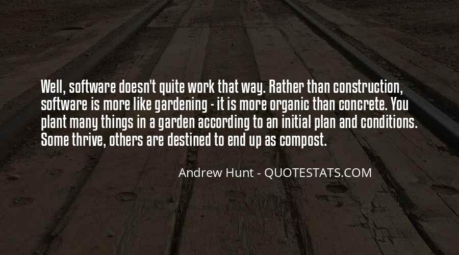Gardening's Quotes #3381