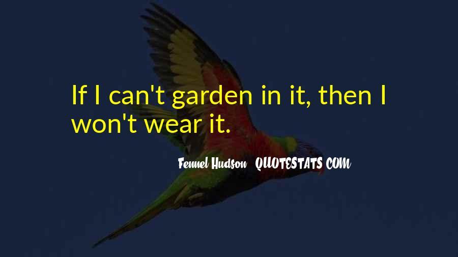 Gardening's Quotes #36516