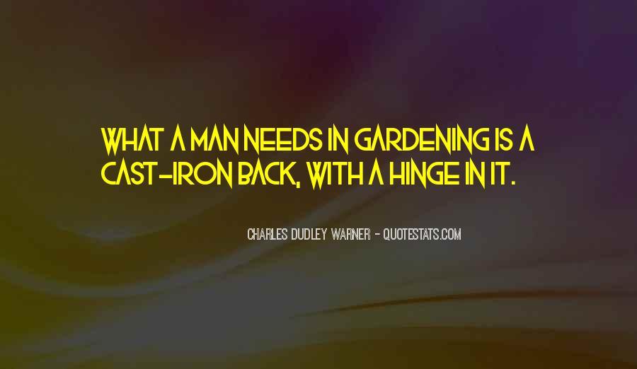 Gardening's Quotes #66880