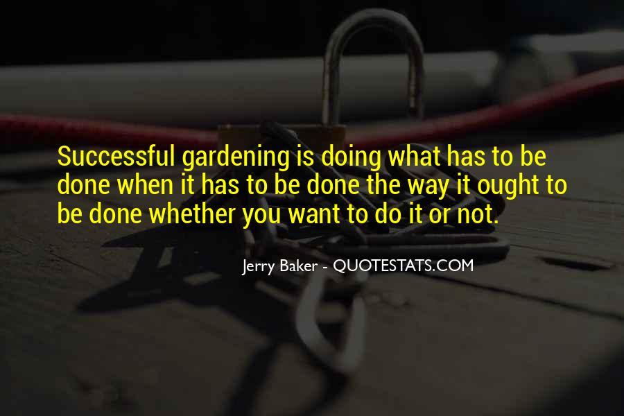 Gardening's Quotes #96350