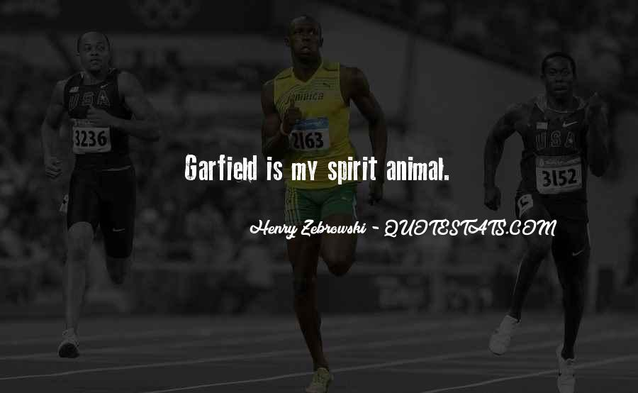 Garfield's Quotes #226606