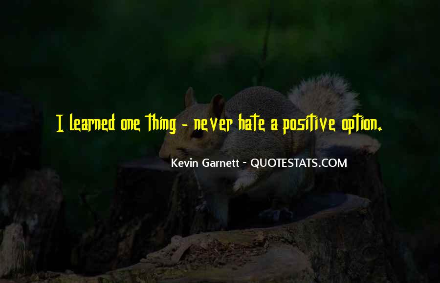 Garnett's Quotes #1686785