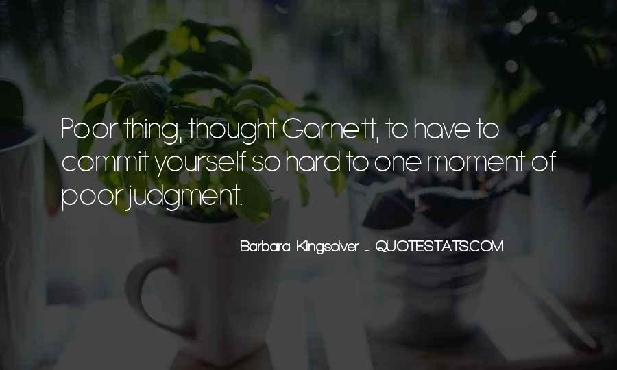 Garnett's Quotes #1818736