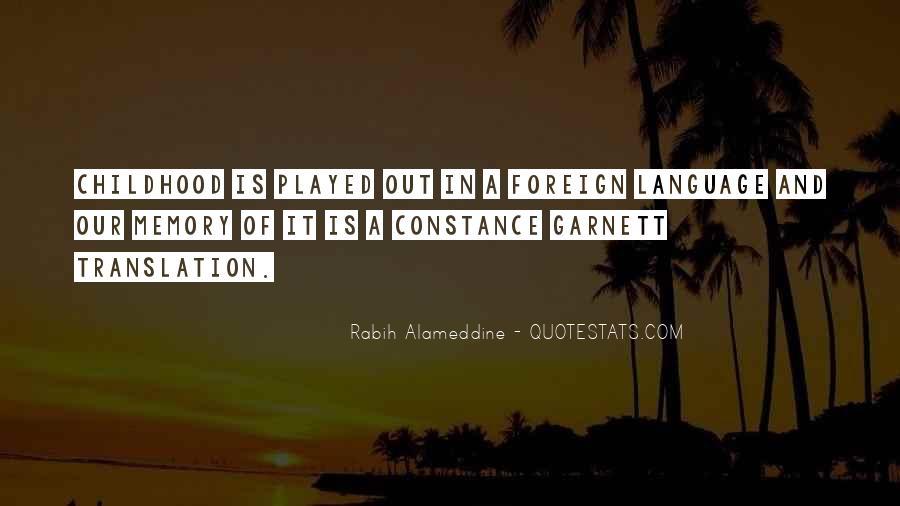 Garnett's Quotes #892080