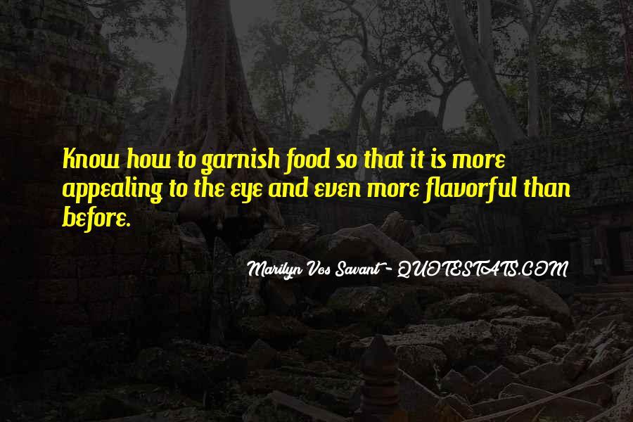 Garnish Quotes #1109022