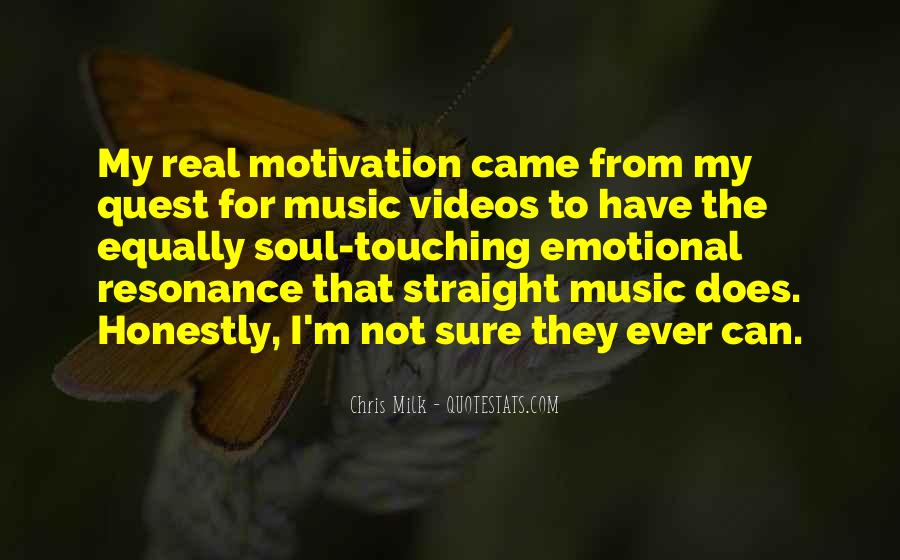 Quotes About Music Videos #1085215