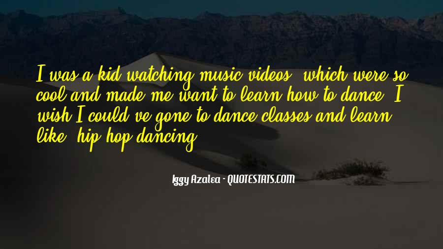 Quotes About Music Videos #1098523