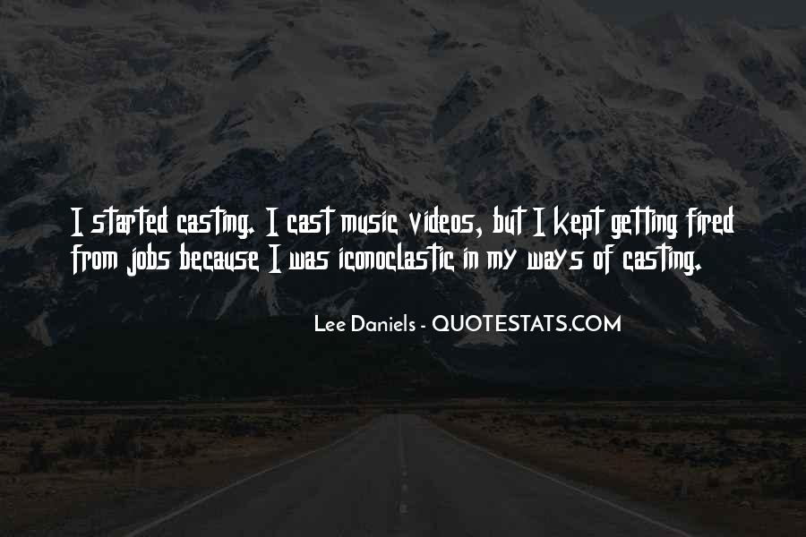 Quotes About Music Videos #1101890