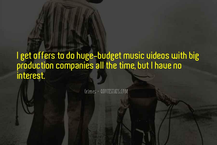 Quotes About Music Videos #1123569