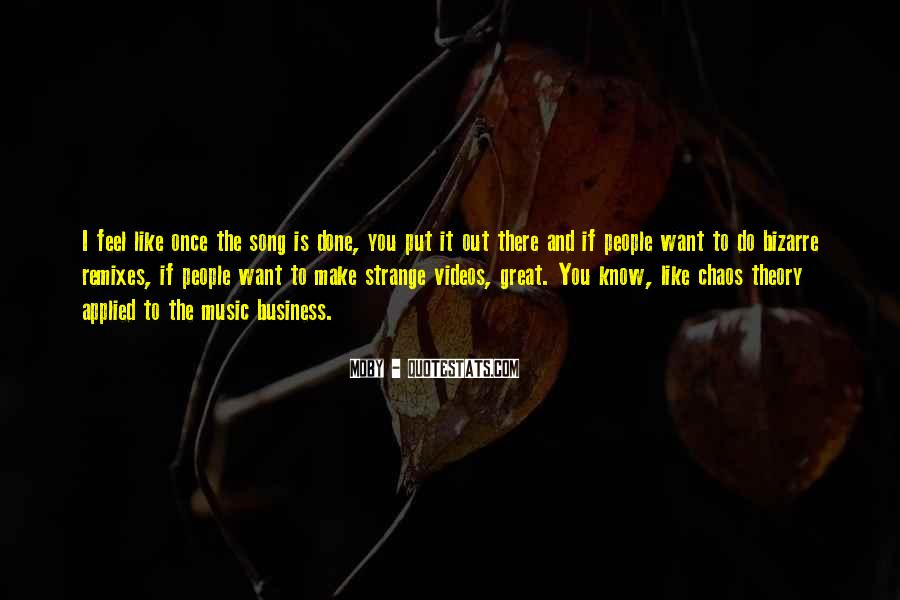 Quotes About Music Videos #1161119