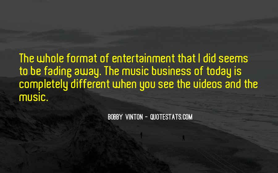 Quotes About Music Videos #1435105
