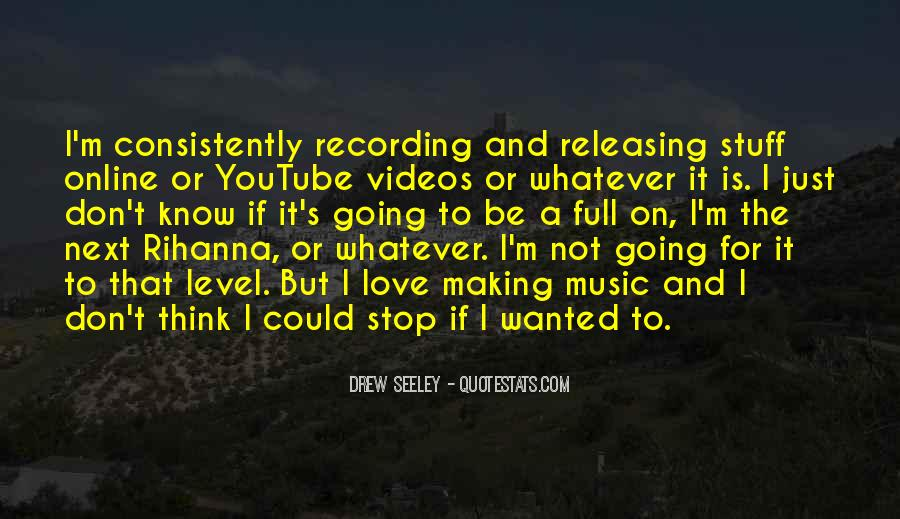Quotes About Music Videos #220815