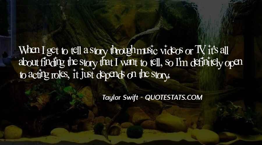 Quotes About Music Videos #262802