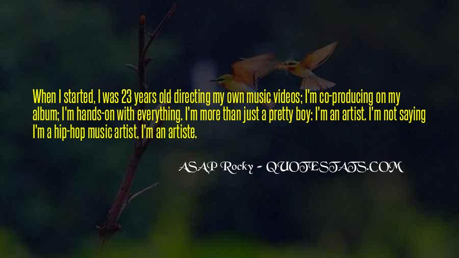 Quotes About Music Videos #476109