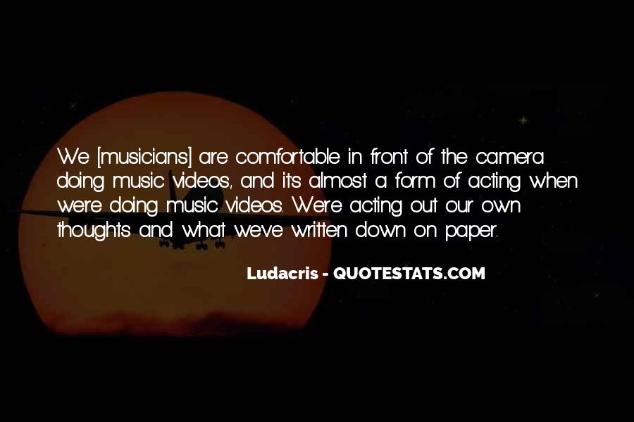 Quotes About Music Videos #734670