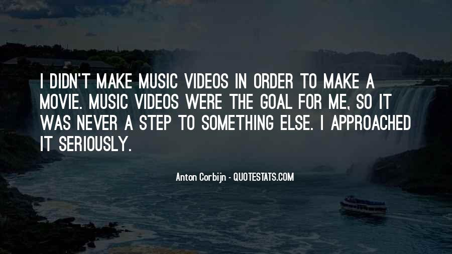 Quotes About Music Videos #753686