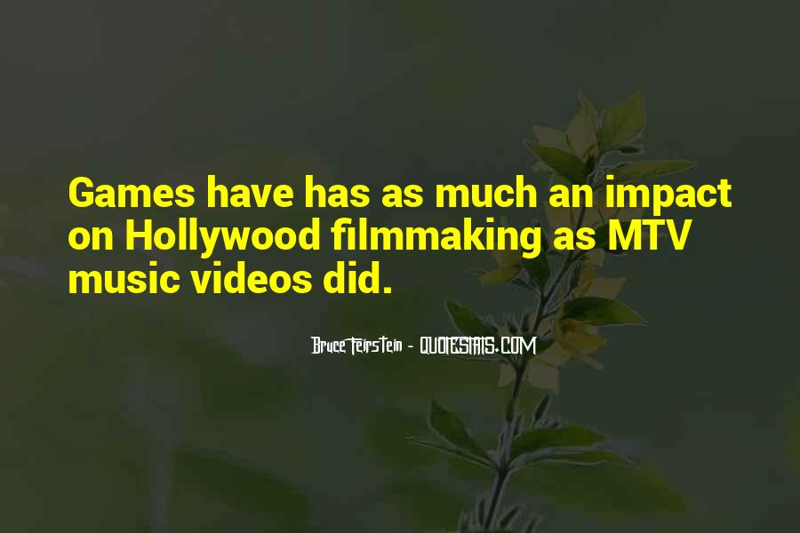 Quotes About Music Videos #829871