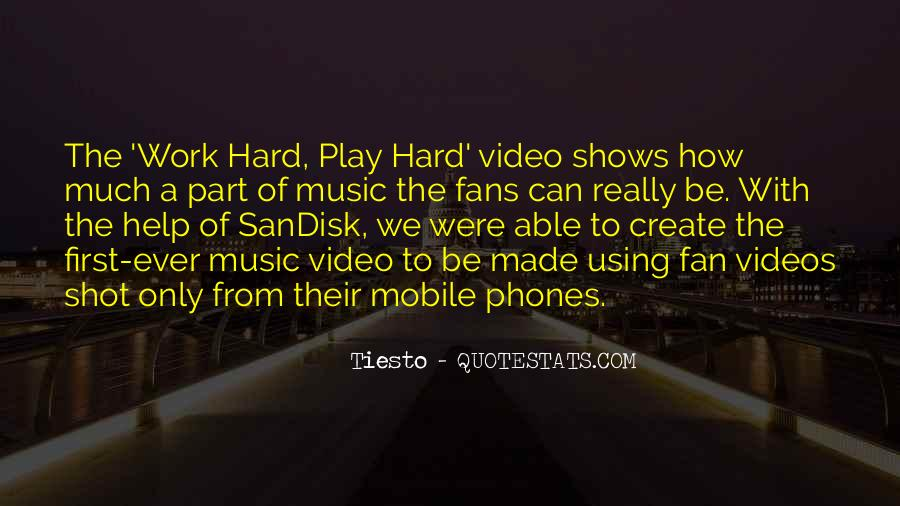 Quotes About Music Videos #895827