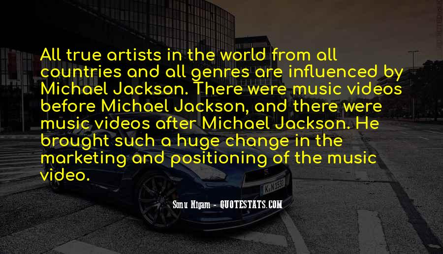 Quotes About Music Videos #963133