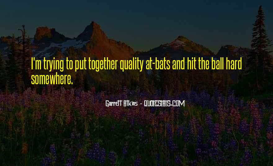 Garrett'd Quotes #120698