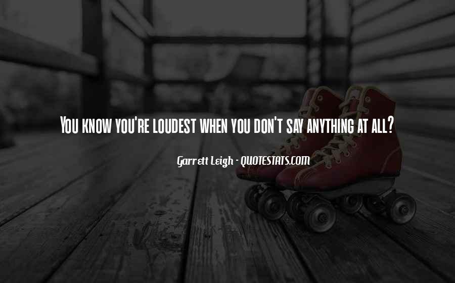Garrett'd Quotes #237851