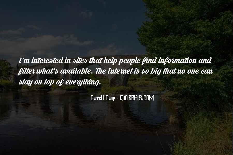 Garrett'd Quotes #46809