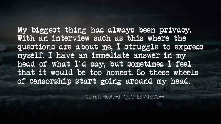 Garrett'd Quotes #688571