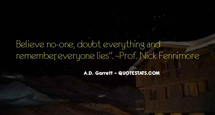 Garrett'd Quotes #881326