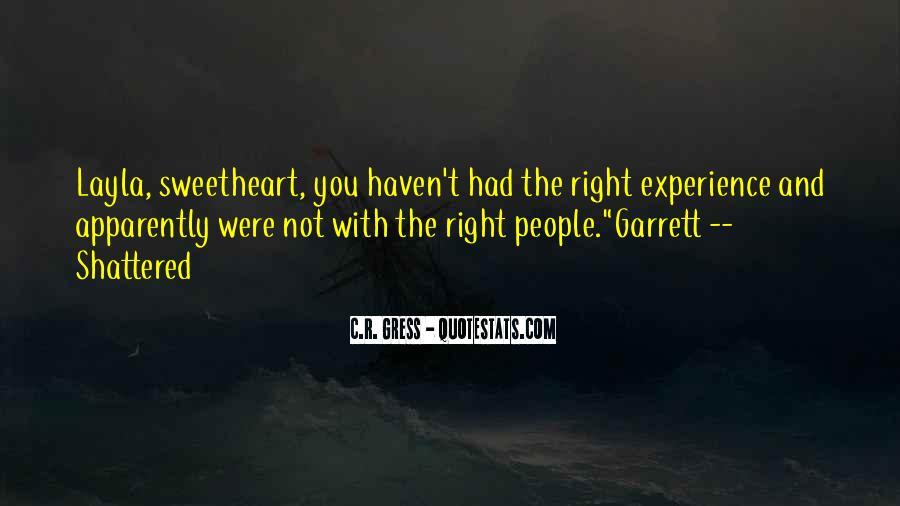 Garrett'd Quotes #97646